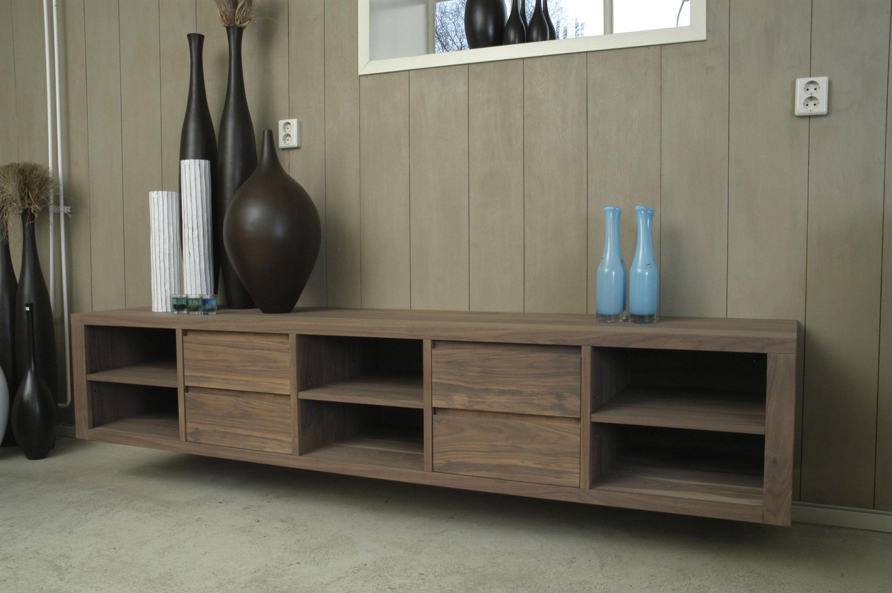 Noten tv meubel hang woonwinkel alle pilat