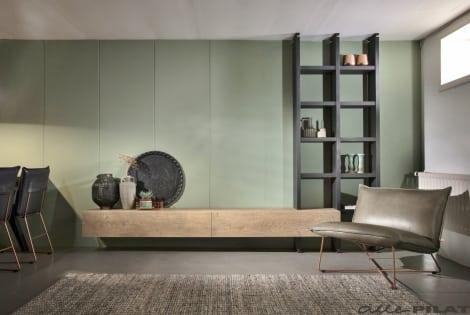 combineren met Hangend Tv-meubel Op en Del