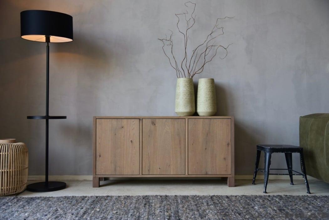 Eiken Tv-meubel Stapel