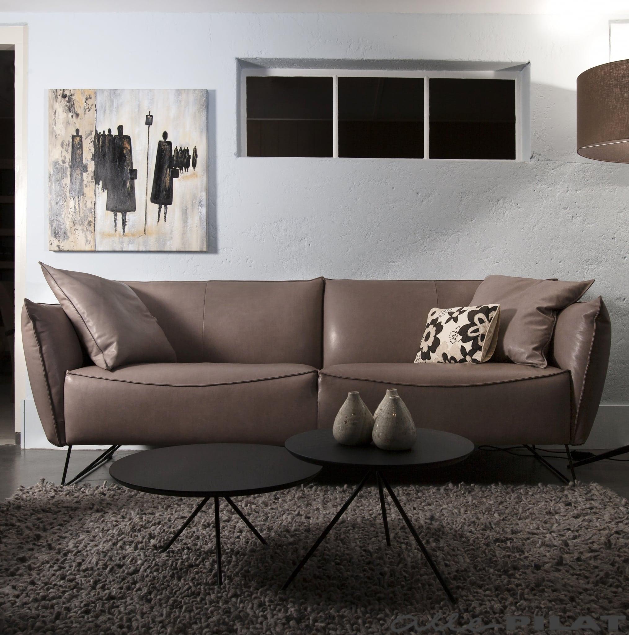 Taupe Leren Hoekbank.Bank Micasa Van Jess Design Vindt U Bij Woonwinkel Alle