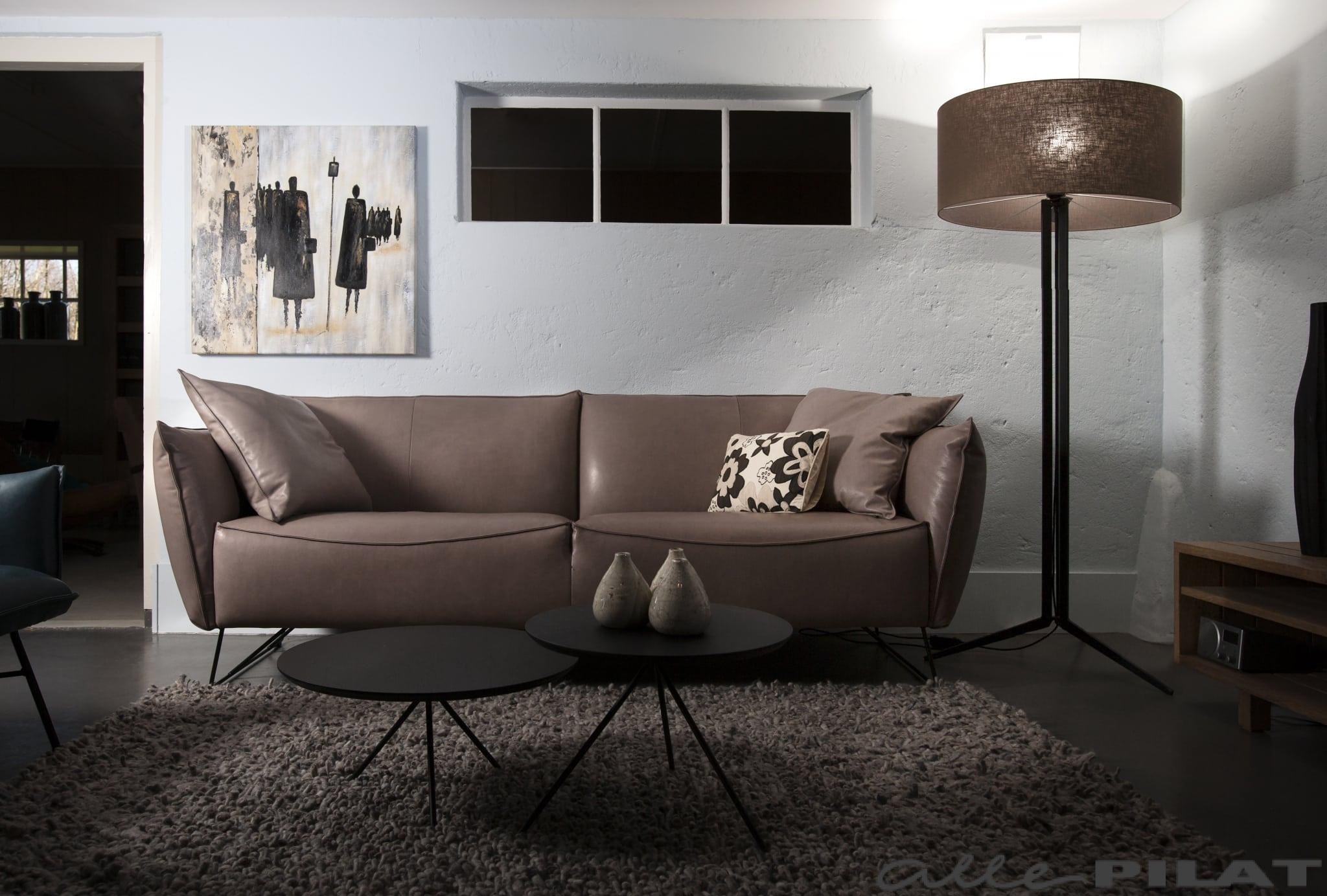 Leren Ronde Bank.Bank Micasa Van Jess Design Vindt U Bij Woonwinkel Alle Pilat In