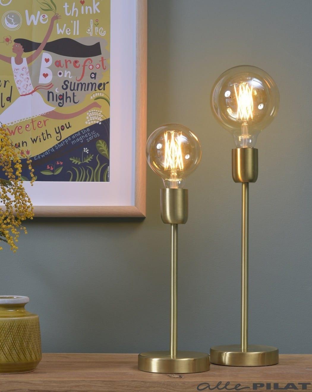 Foto Tafellamp Gold