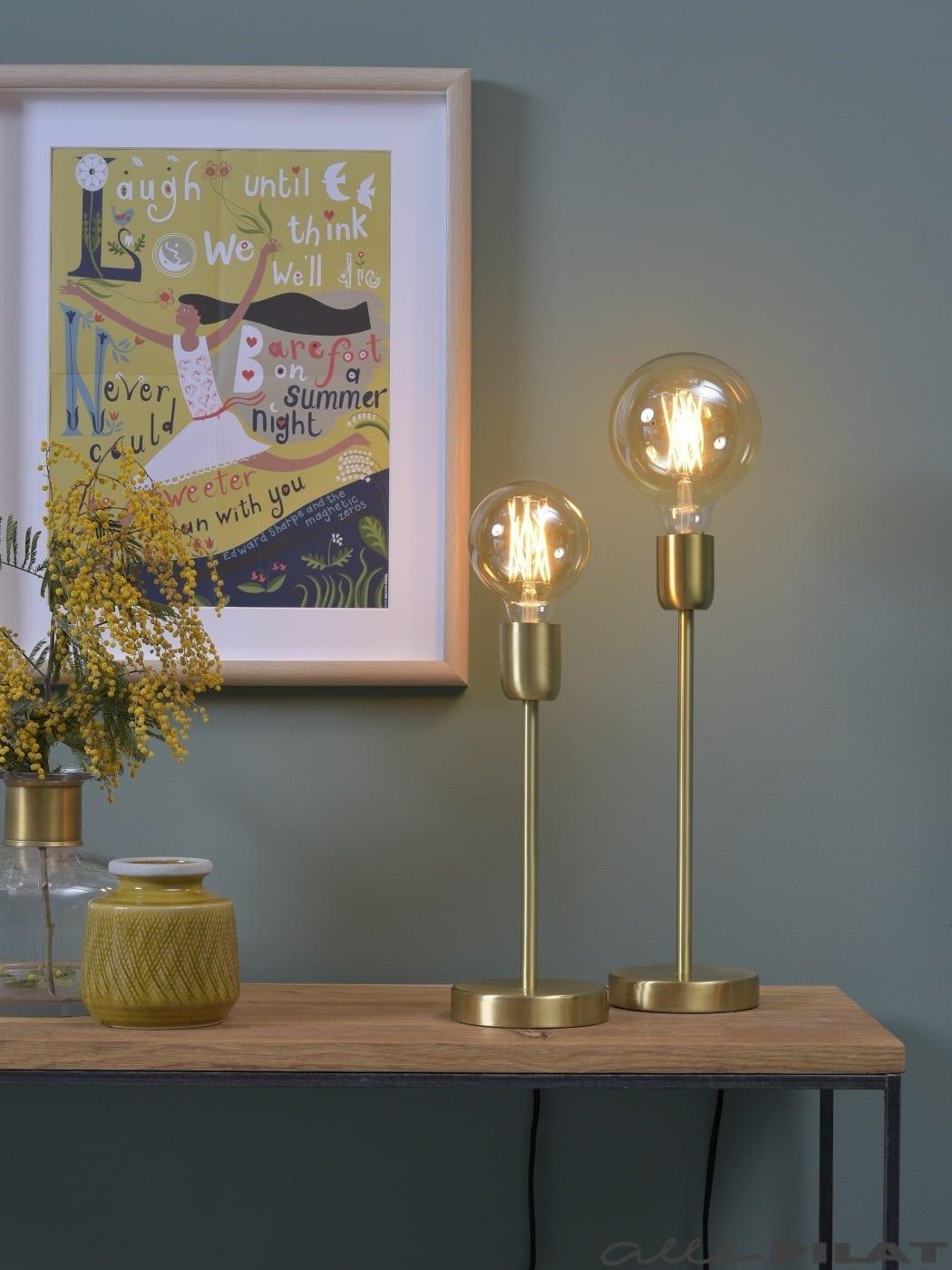 Tafellamp Gold