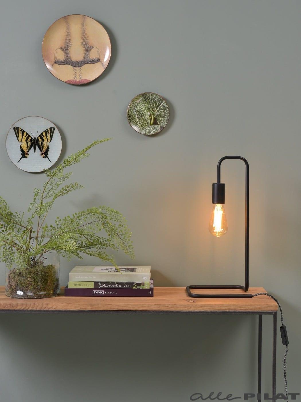 Tafellamp London Zwart