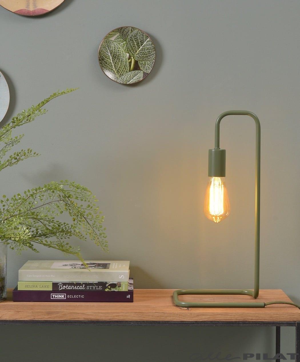 Tafellamp London Groen