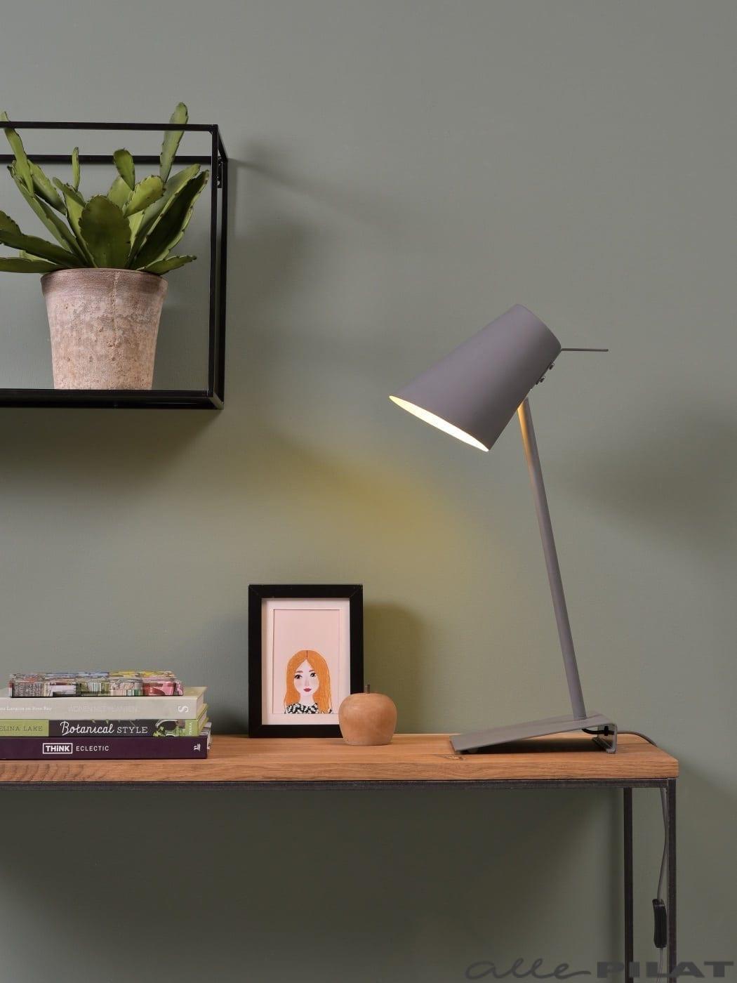 Tafellamp Zenz Grijs