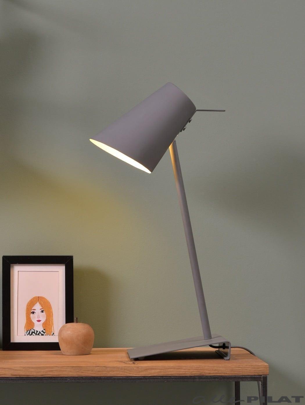 Foto Tafellamp Zenz Grijs