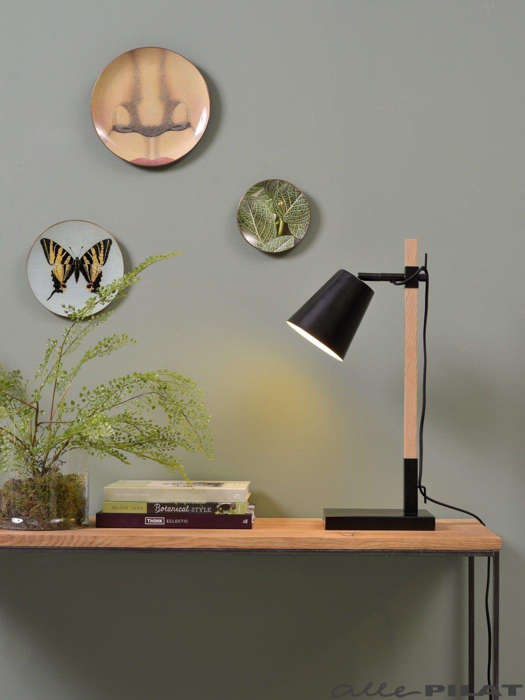 Tafellamp Sydney Zwart