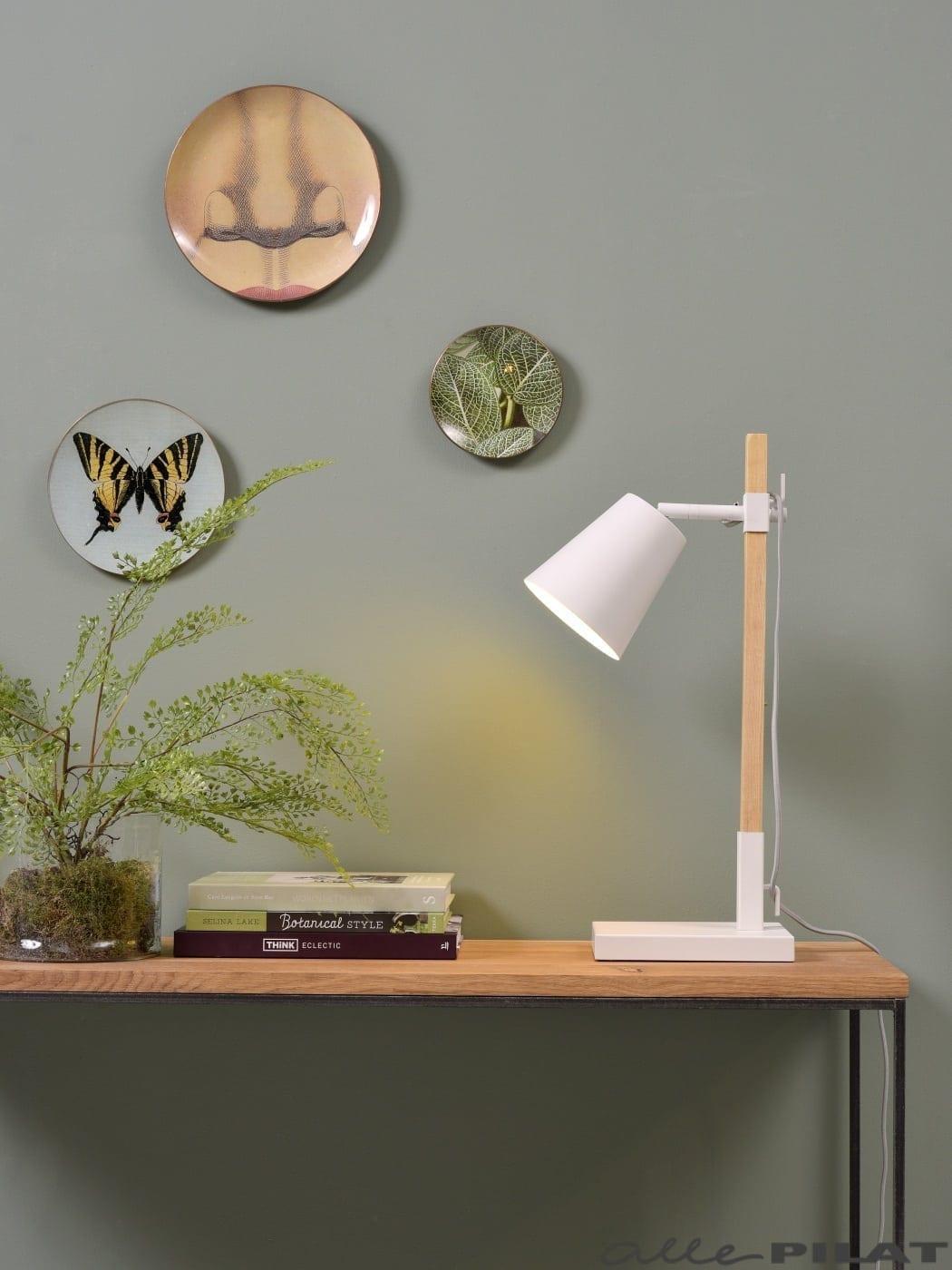 Tafellamp Sydney Wit
