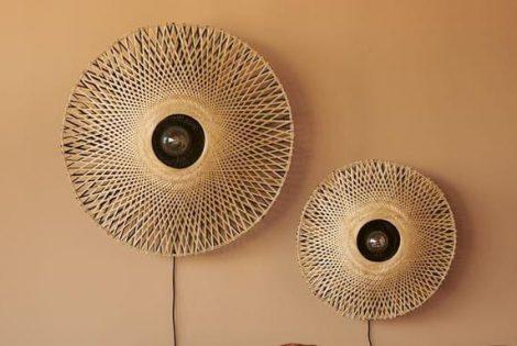 combineren met Wandlamp Bamboe Naturel