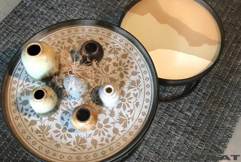 combineren met Ronde salontafel Notre Monde