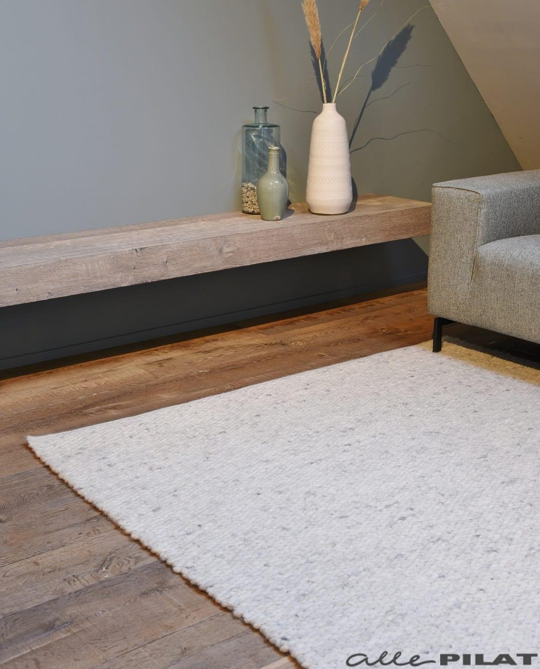 Foto Wollen karpet Limone