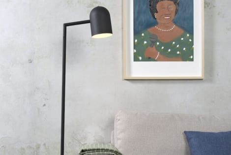 combineren met Vloerlamp Marseille zwart