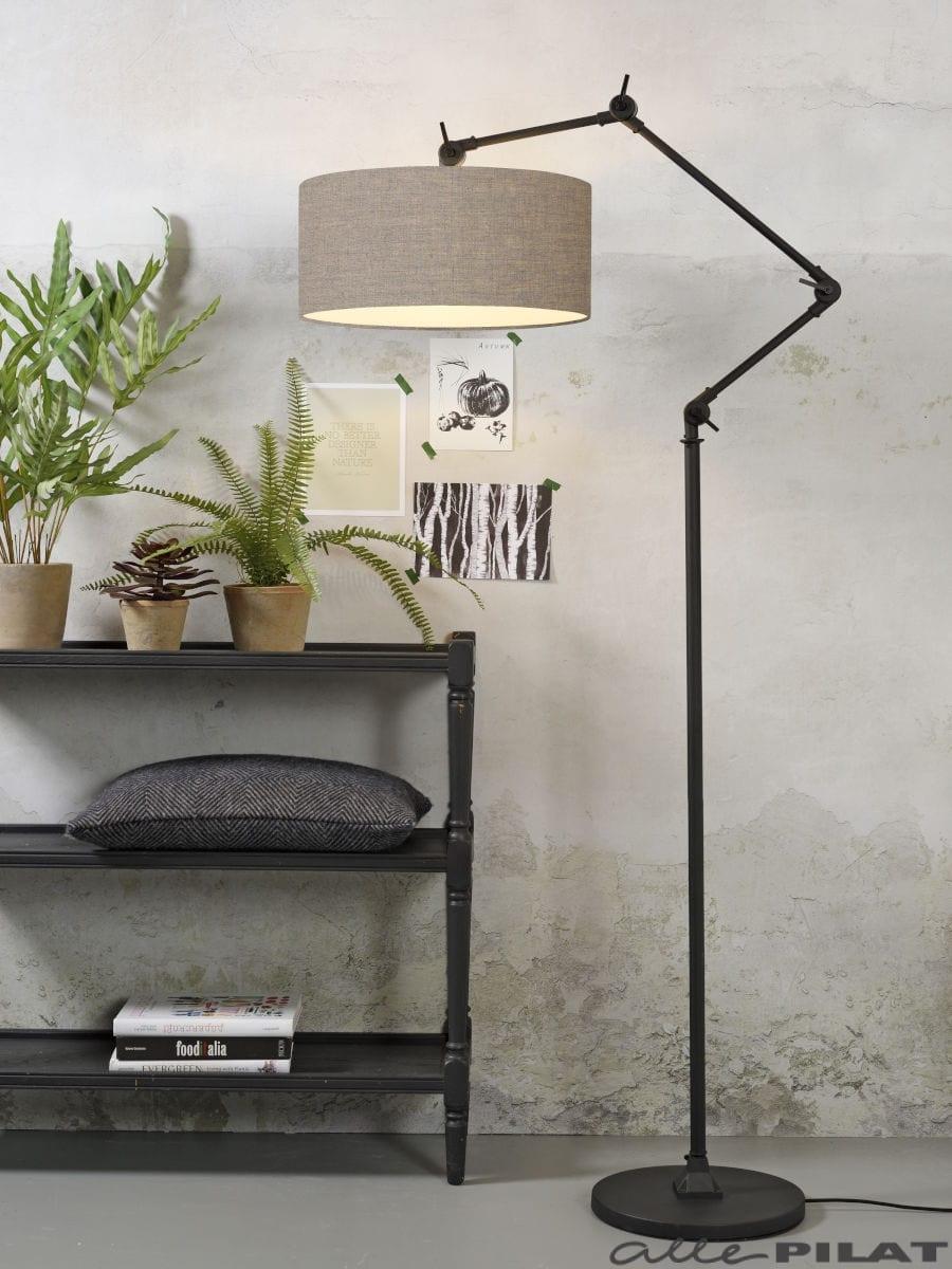Vloerlamp Amsterdam zwart