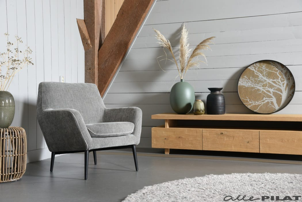 Fauteuil Bruce laag