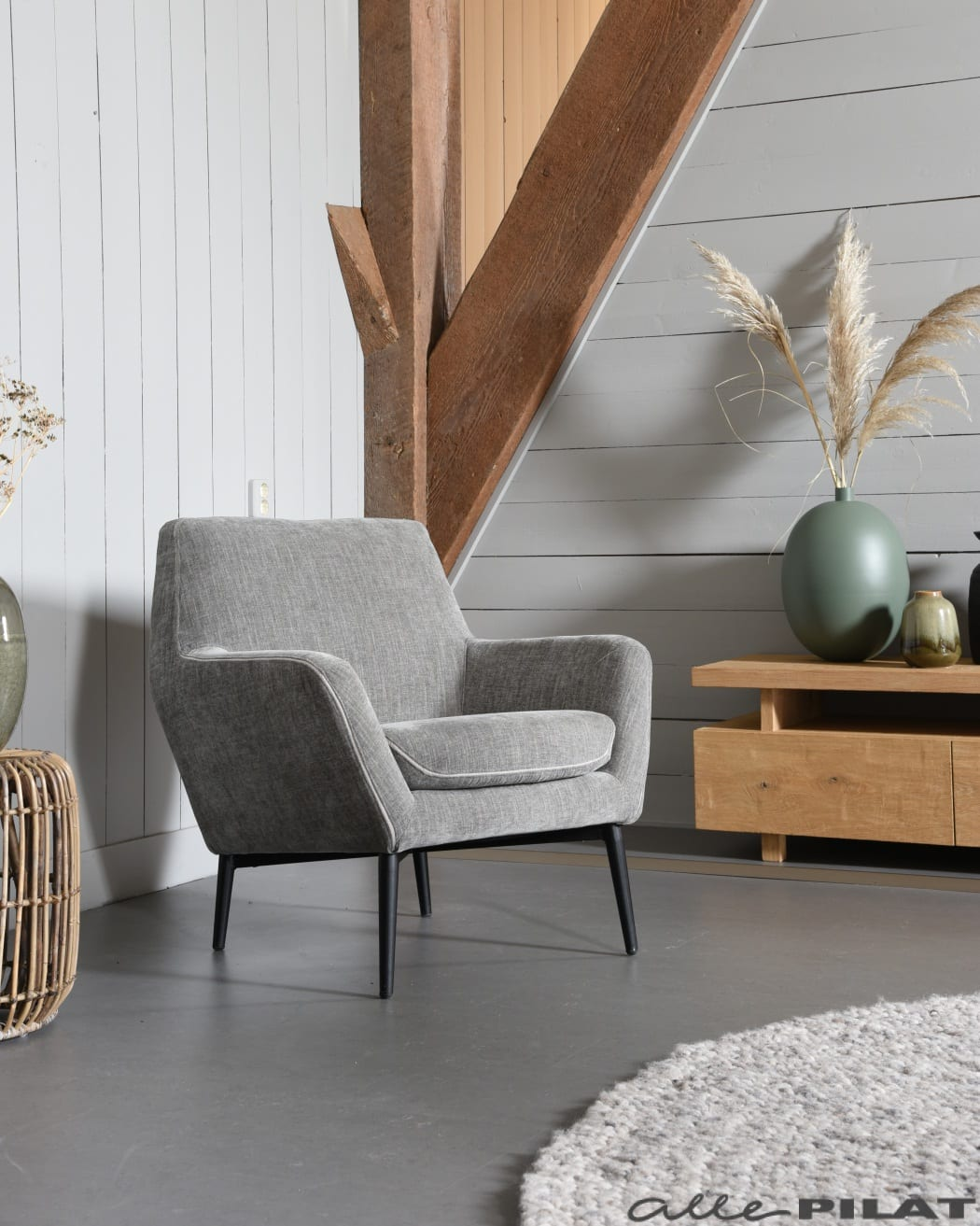 Foto Fauteuil Bruce laag