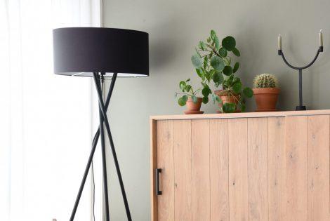 combineren met Vloerlamp Hampton Zwart