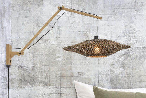 combineren met Wandlamp Bali met naturel frame