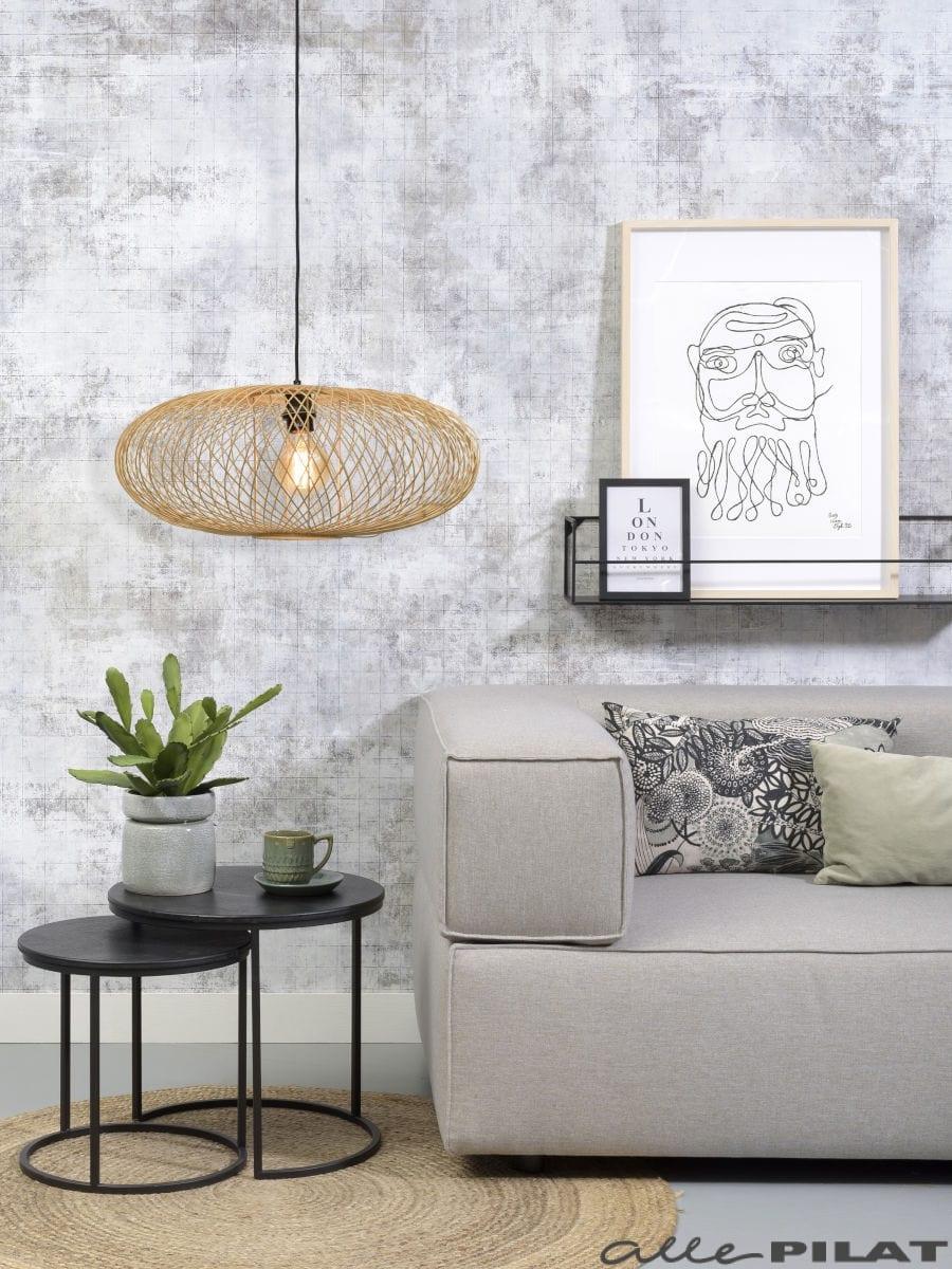 Hanglamp Cango naturel