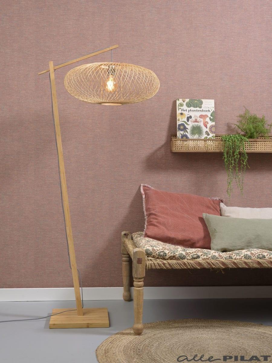 Vloerlamp Cango naturel