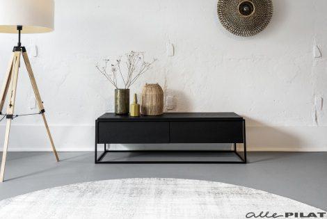 combineren met Tv-meubel Mono zwart