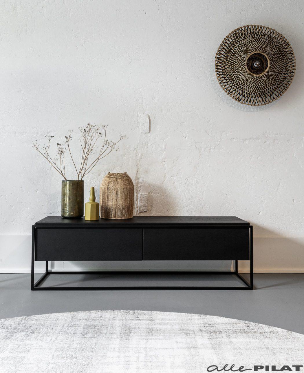 Foto Tv-meubel Mono zwart